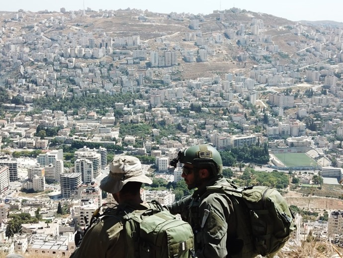 חיילים ביהודה ושומרון (ארכיון). צילום: דובר צה