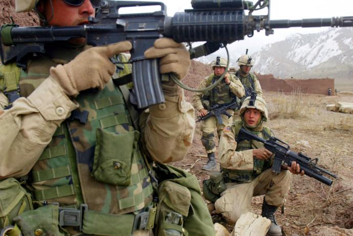 חיילים אמריקאים באפגניסטן. צילום: רויטרס