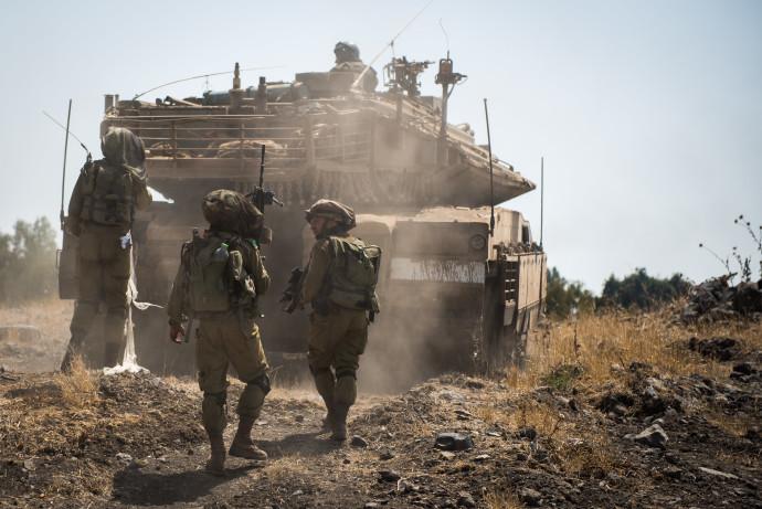 חיילי שיריון. צילום: אתר צה