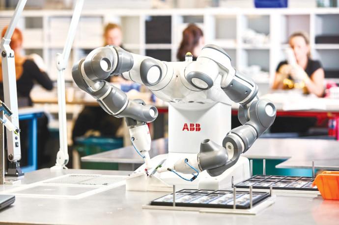 השיפורים הטכנולוגיים (ABB רובוט). באדיבות החברה