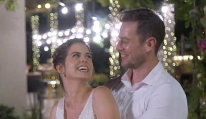 חתונה ממבט ראשון, אמיר ודנית. צילום מסך קשת
