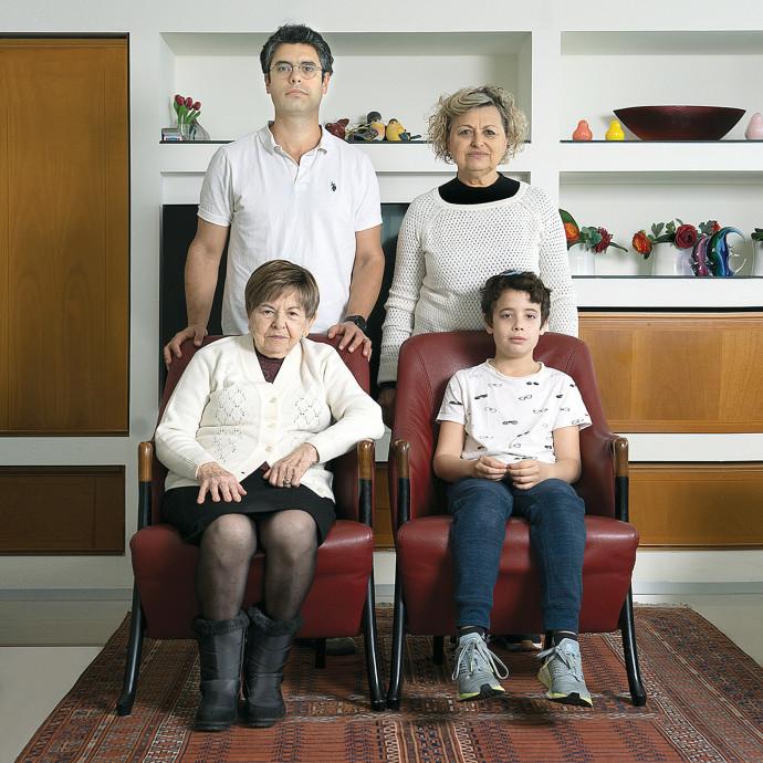 משפחת פריש. צילום: דבי מורג