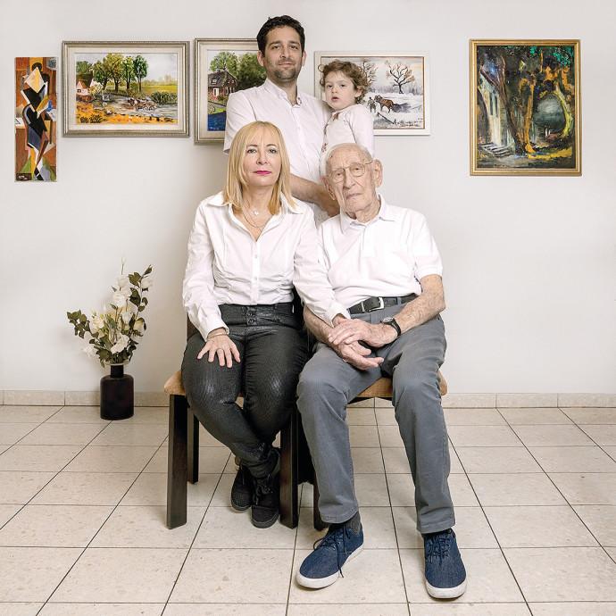 משפחת פרידמן. צילום: דבי מורג