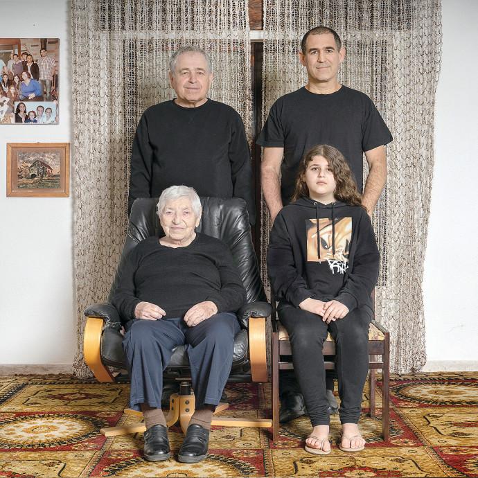 משפחת שפירא. צילום: דבי מורג