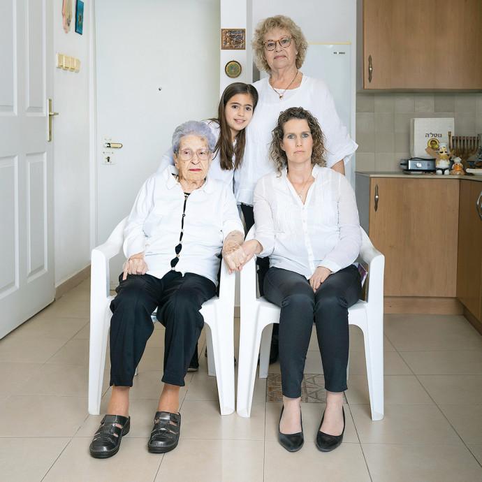משפחת קליסקי. צילום: דבי מורג