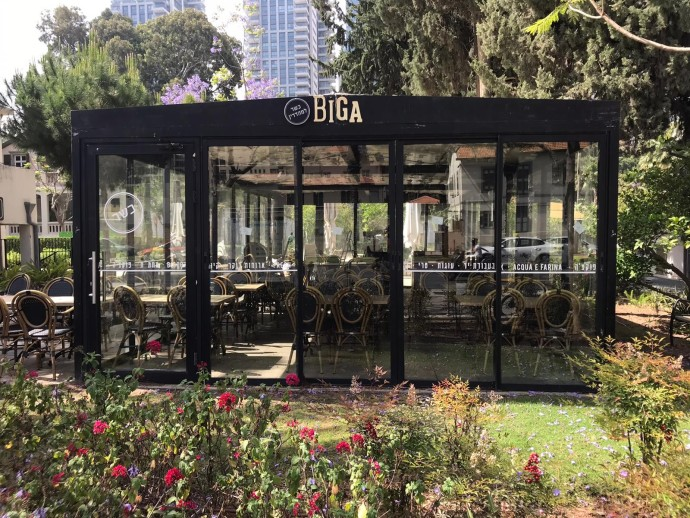 עסקים סגורים בתל אביב. צילום: אבשלום ששוני