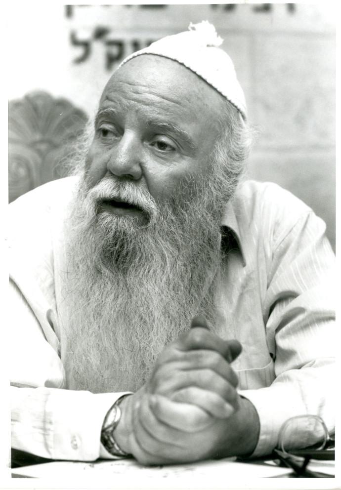 מאיר יהודה גץ. צילום: פלאש 90