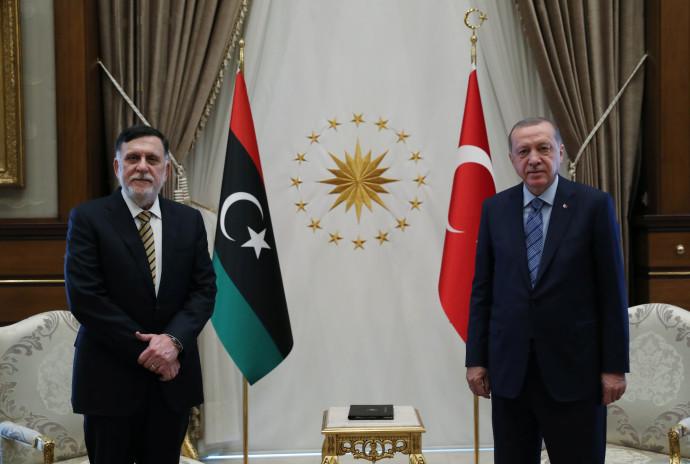 נשיא טורקיה ארדואן עם רה