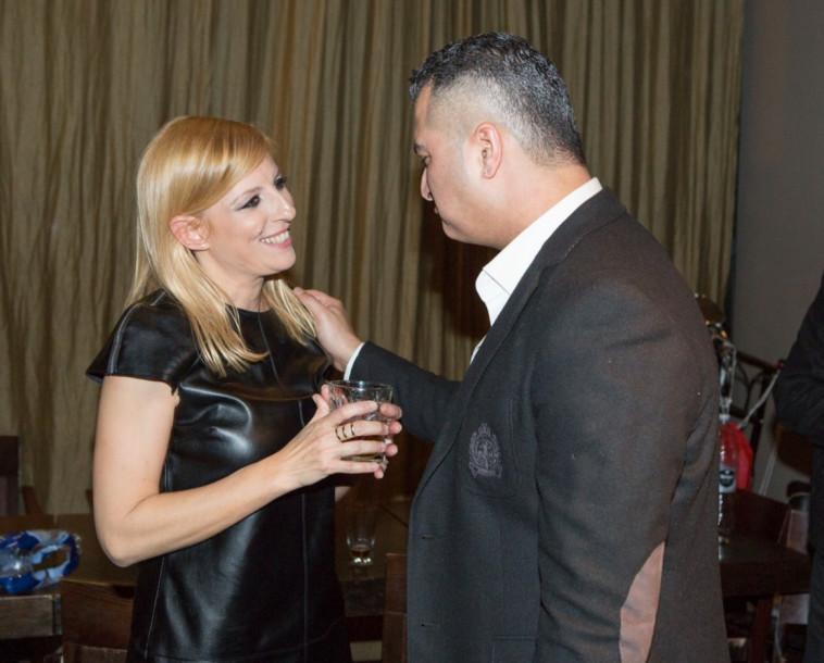 את אחלה. רון שובל עם דנה ברגר (צילום: ליאור כתר ועופר חן)