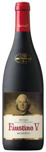 פאוסטינו ריוחה רזרבה - בקבוק