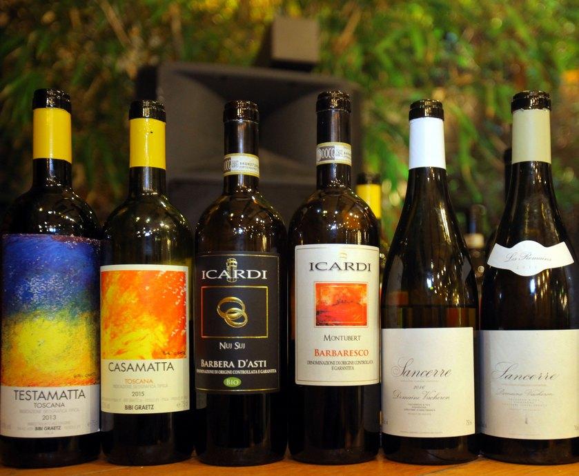"""יינות יבוא חדשים - ארבעה יקבים: יווני, שני איטלקים וצרפתי, וזה ממש לא התחלה של בדיחה... (צילומים: דיויד סילברמן, יח""""צ)"""