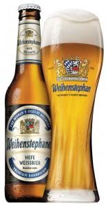 בירה ווינשטפן - כוס ובקבוק