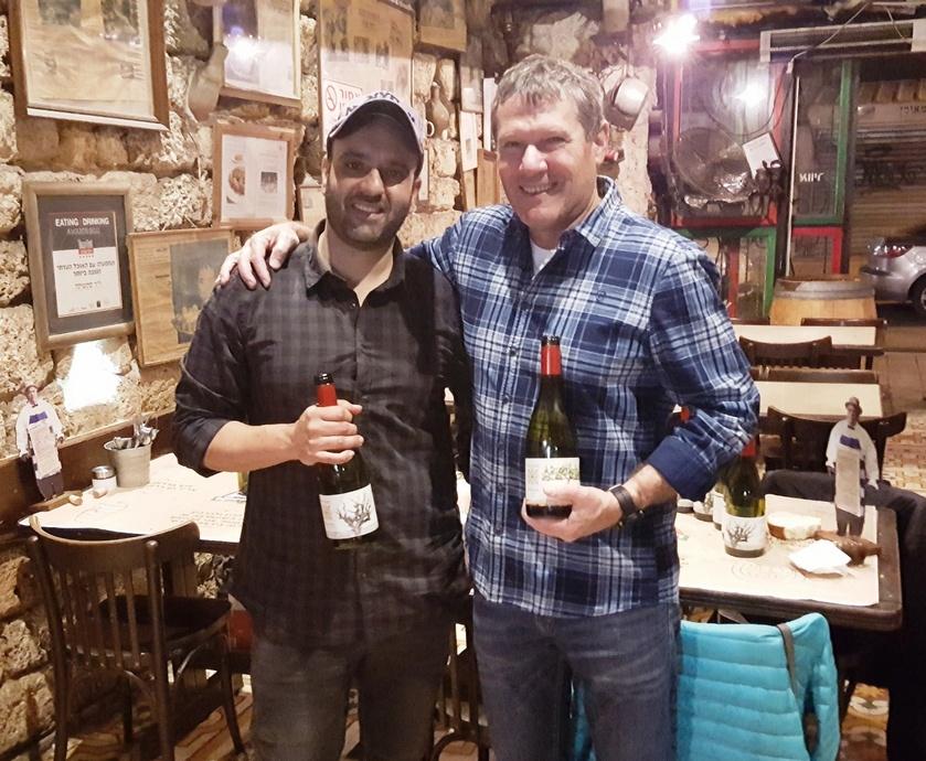 יקב רקנאטי - כמה אפשר לברבר על יינות ים-תיכוניים שמתאימים לאקלים שלנו ולאכול לידם אוכל פלצני המבוסס על חומרי גלם מיובאים? (צלם: אלי פרכטר)