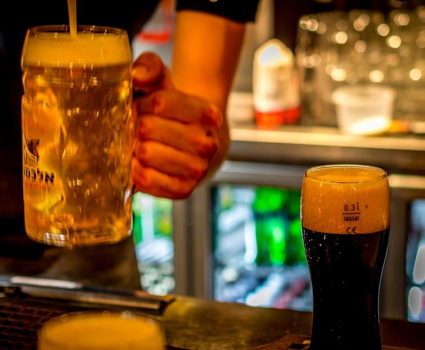 """אלכסנדר ביר גארדן - אז נכון שאומרים שאלכוהול הוא חומר משמר. ובכן, הוא משמר הכל - חוץ מסודות, כמובן... (צילומים: יח""""צ)"""
