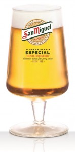 בירה סן מיגל - כוס