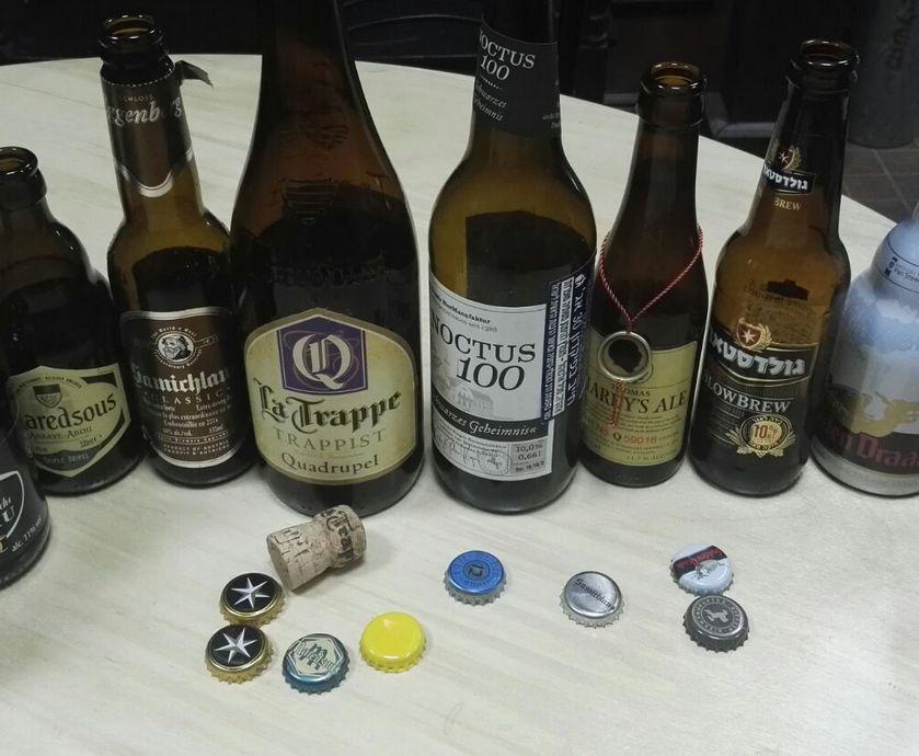 """בירות חזקות באלכוהול - החלטנו ללכת על הצד הקשוח ולבחור רק בירות בעלות למעלה מ-10% אלכוהול... (צילומים: גדי דבירי, יח""""צ)"""