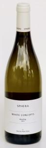 ריזלינג ווייט קונספט 2014 יקב ספרה - בקבוק