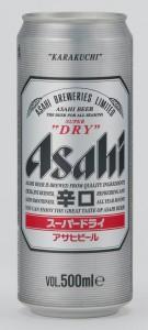 בירה אסהי -  פחית