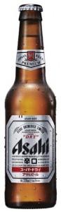 בירה אסהי - בקבוק