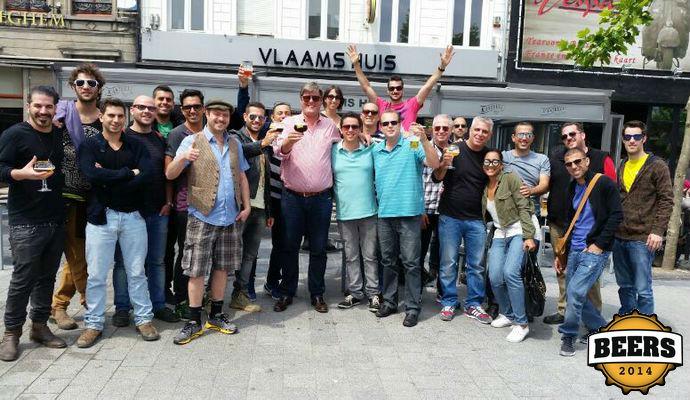 """אנשי רדקס וחלק מלקוחותיהם בסיור ב""""קסטיל רוז'"""" בלגיה"""