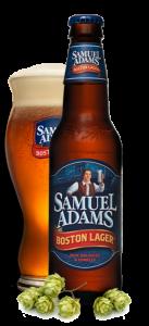סמואל אדמס - בקבוק וכוס
