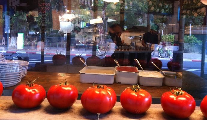 שילוב מנצח ומשמים שכנראה הולך ומתברר כתמצית הטעם הישראלי (צילומים: חיליק גורפינקל, גיא רובננקו)