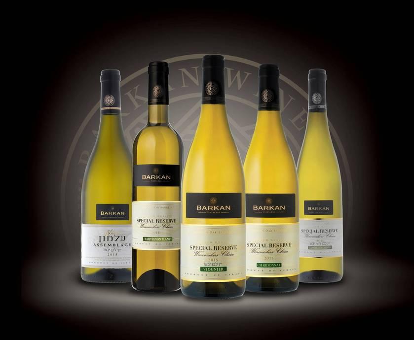 ברקן יינות לבנים בציר 2015 - רוחב